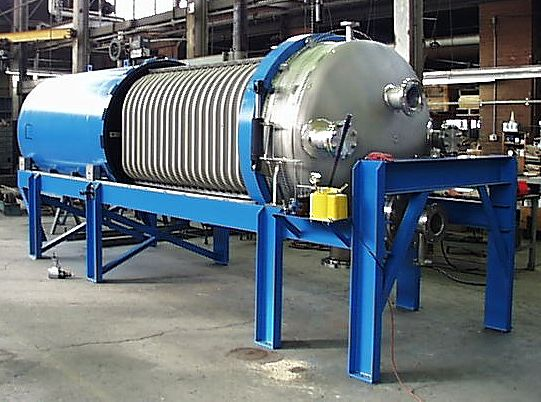 Durco Filters Type HC Pressure Leaf for Sugar Processing