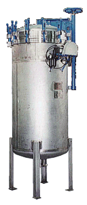 Pressure Leaf Filters Verticle Vessel