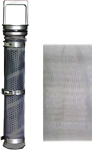 Tubular-Backwash Media Mesh